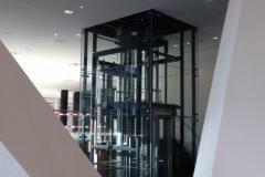 Stalen liftschacht (1)