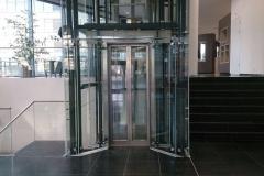 Stalen liftschacht (2)