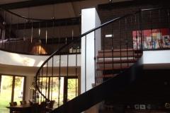 Trap en hekwerk Wageningen Hoog (5)